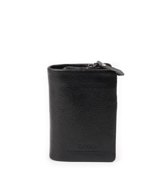 ZONALe COMODO 31032 縦型二つ折り財布 ブラック