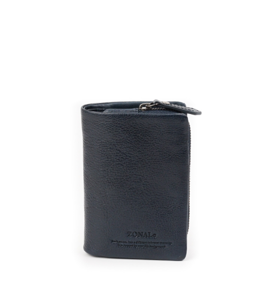ZONALe COMODO 31032 縦型二つ折り財布 ネイビー