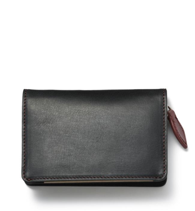 ZONALe GREY 31022 RFキー/コイン/カードケース ブラック