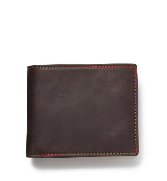 ZONALe GREY 31023 二つ折り財布 ダークブラウン