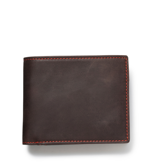 ZONALe GREY 31024 LF二つ折財布 ダークブラウン