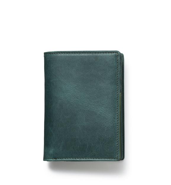 ZONALe GREY 31025 縦型二つ折り財布 ネイビー