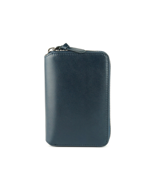 ZONALe PRATICO 31217 ラウンド縦型財布 ネイビー