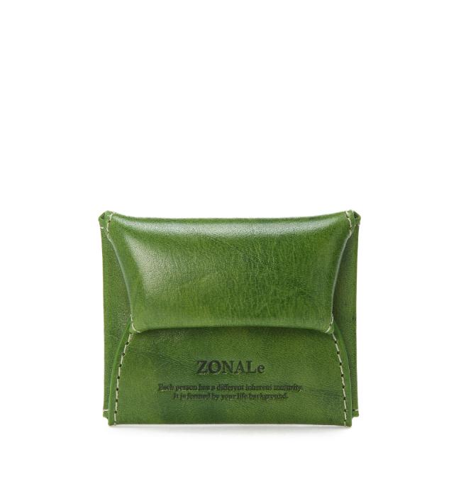 ZONALe RENZINA 31082 イタリアンレザーコインケース グリーン