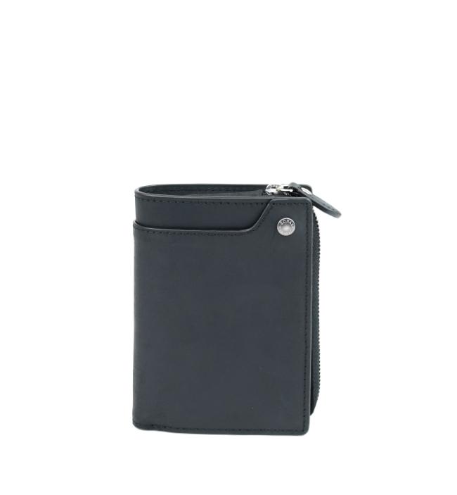 ZONALe VINTAGE 31142 縦型二つ折り財布 ブラック